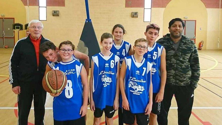 Le Basket Club d'Entraygues a de la graine de champions.
