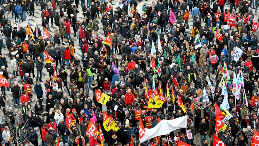 Des rassemblements sont prévus jeudi 12 décembre à Rodez, Millau, Decazeville, Villefranche-de-Rouergue et Capdenac-Gare.