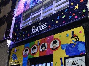 Le Pop-Up Shop Beatles à ouvert à New York pour les fêtes.
