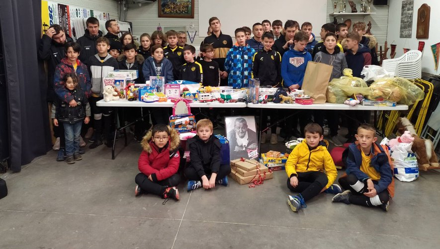 Un élan de générosité bienvenu de la part des enfants du  FCN.