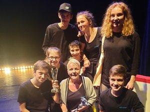 L'atelier théâtre de l'association Familles rurales récompensé.