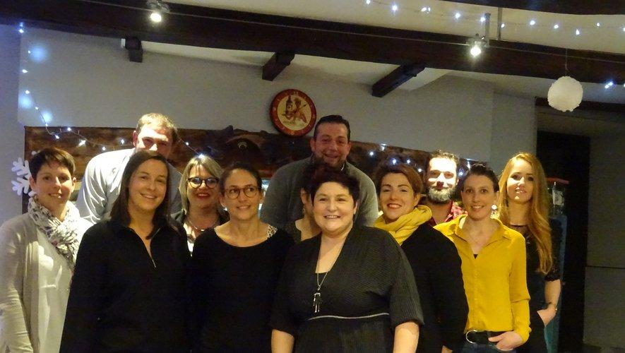 Classardes et classards au  Café du Foirail.