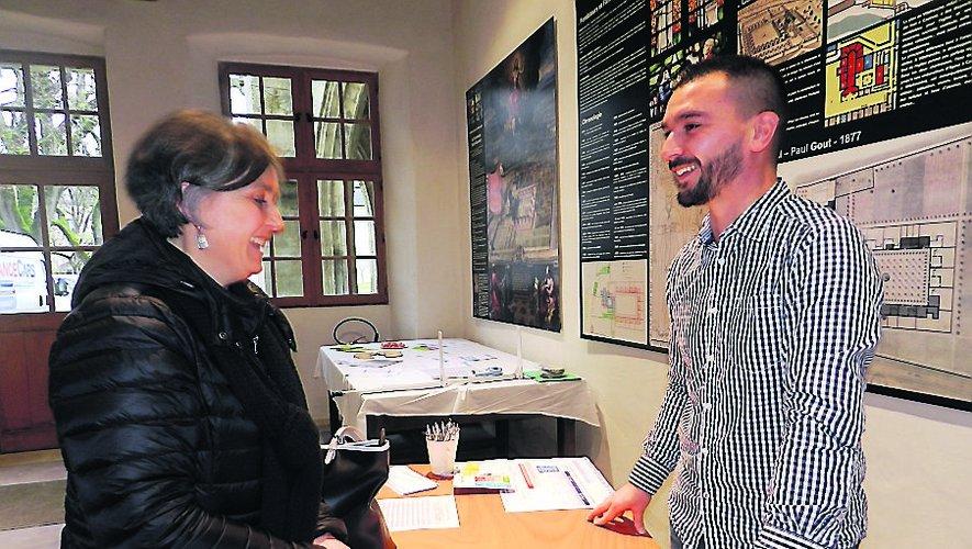 Fabien Malirat, diététicienà l'hôpital, a réponduà de nombreuses questionsde professionnels de santé.