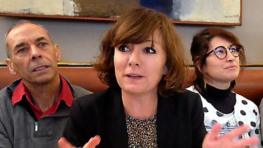 Emmanuelle Gazel estune candidate déjà en action.