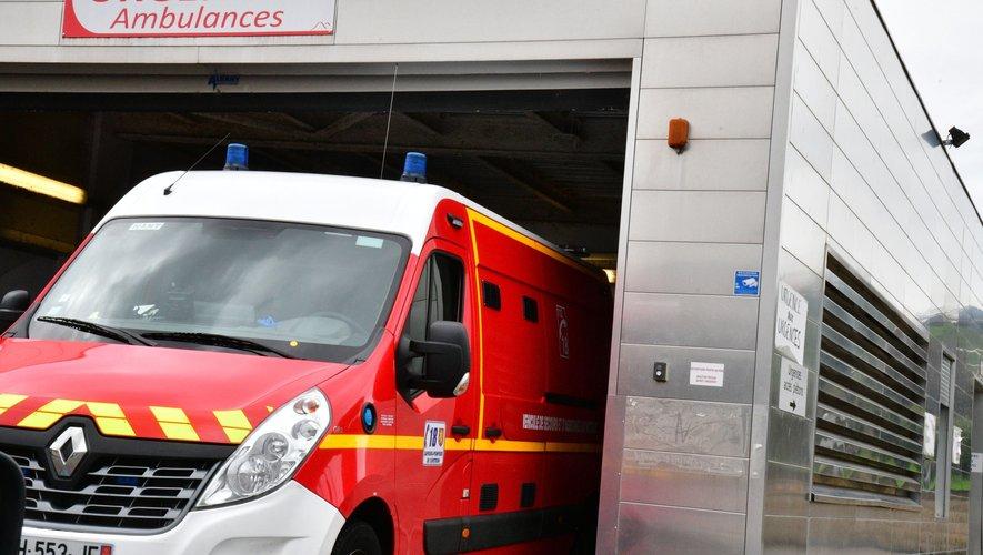 Les pompiers de Millau et de Sévérac-d'Aveyron sont intervenus.