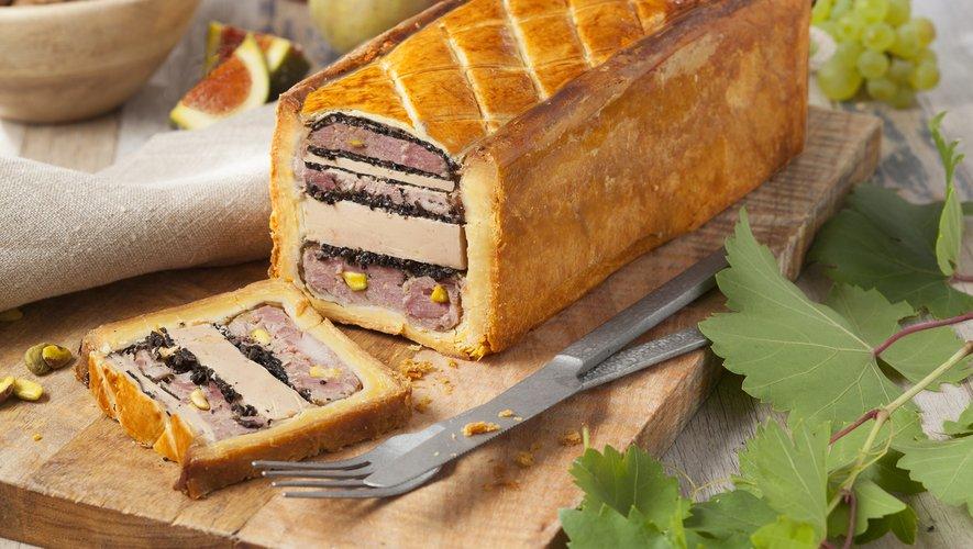Le pâté en croûte au foie gras