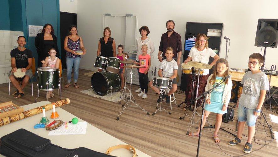 Un atelier de musique avec Jérémy Terris.