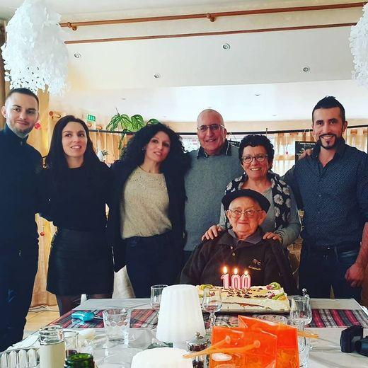 Noël a fêté ses 100 ans avec ses proches.