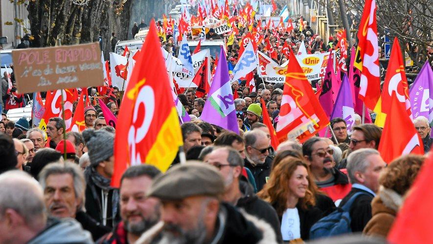 Le 5 décembre dernier, la manifestation avait été bien suivie à Rodez.