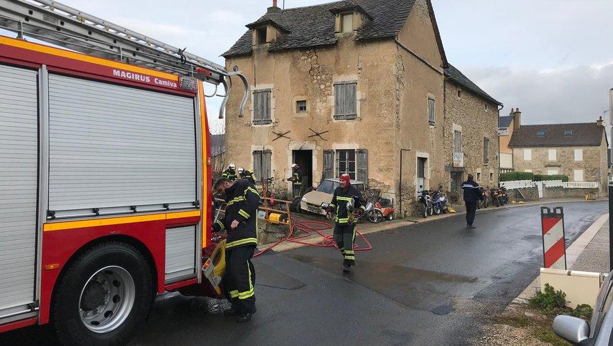 Les pompiers sont arrivés rapidement sur place, ce mardi matin.
