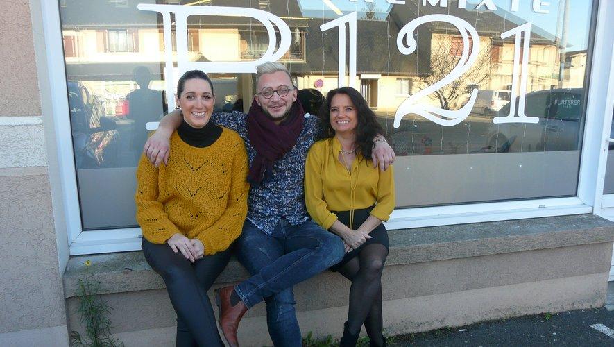 Gaël, Fabienne et Mathilde, un trio complémentaire aux petits soins de ses client(e)s.