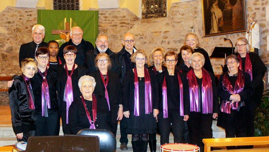 La chorale du Vallon.