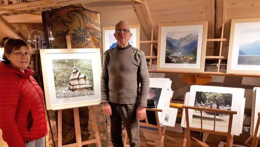 Denis Mathieu propose une exposition de photos prises en Norvège.
