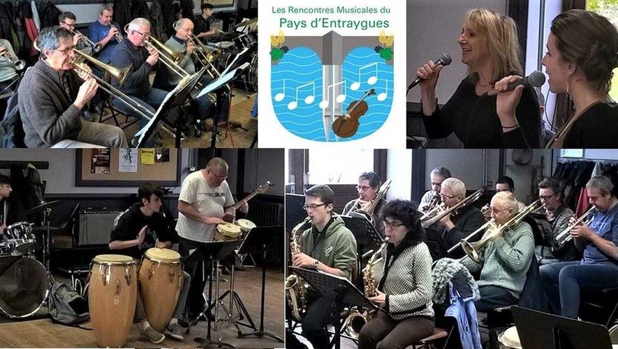 Venez apprécier les voix et la musique du Big Band d'Espalion