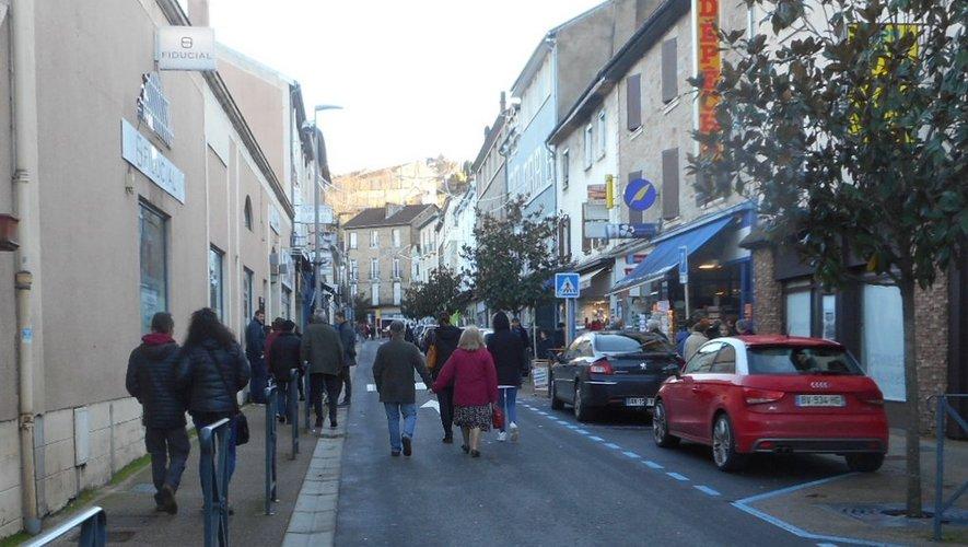 Il y au eu du monde sur la rue Cayrade dimanche dernier.