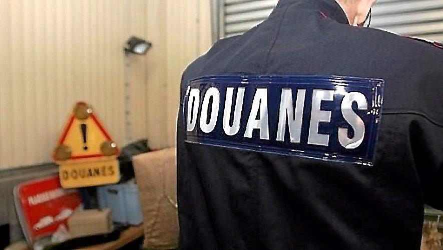 """Nouvelle arrestation d'une """"mule"""" pour les douanes aveyronnaises."""