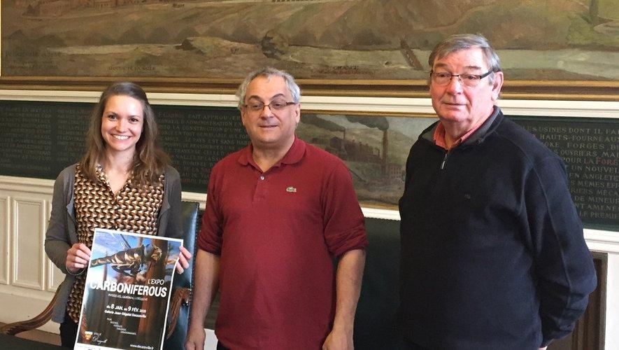 Pour mener à bien cette exposition des minéraux et fossiles du musée Pierre Vetter, Alain Alonso s'est entouré d'Anne-Solange Farjeau, responsable des collections, et du géologue Richard Ciszak.