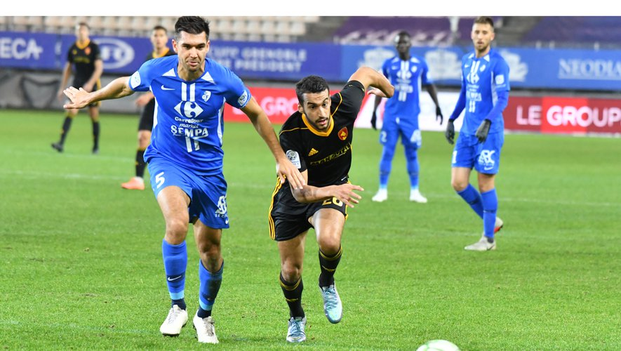 La passe décisive d'Ayoub Ouhafsa n'a pas permis au Raf d'éviter la défaite la défaite à Grenoble.
