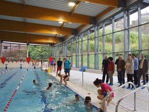 En fin de semaine, le profond bassin d'Aquavallon n'effrayait plus les petits élèves de maternelle.
