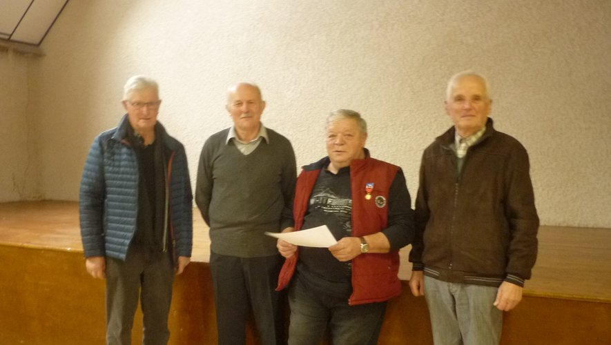 Les maires ayant accompagné la carriere de Dédé : Emile Desmons, Robert Rispal et Claude Pagès.