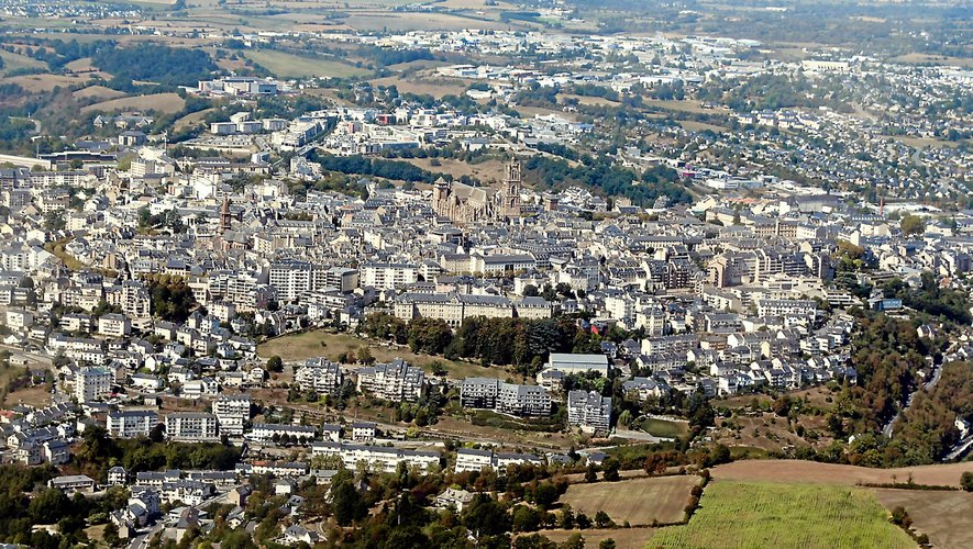 L'agglomération ruthénoise compte aujourd'hui près de 56 000 habitants.