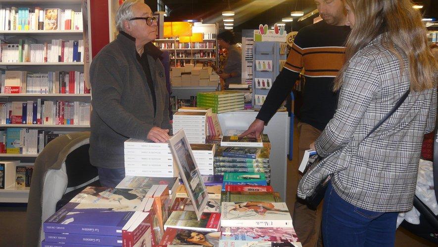 Daniel Crozes à la rencontre de ses lecteurs