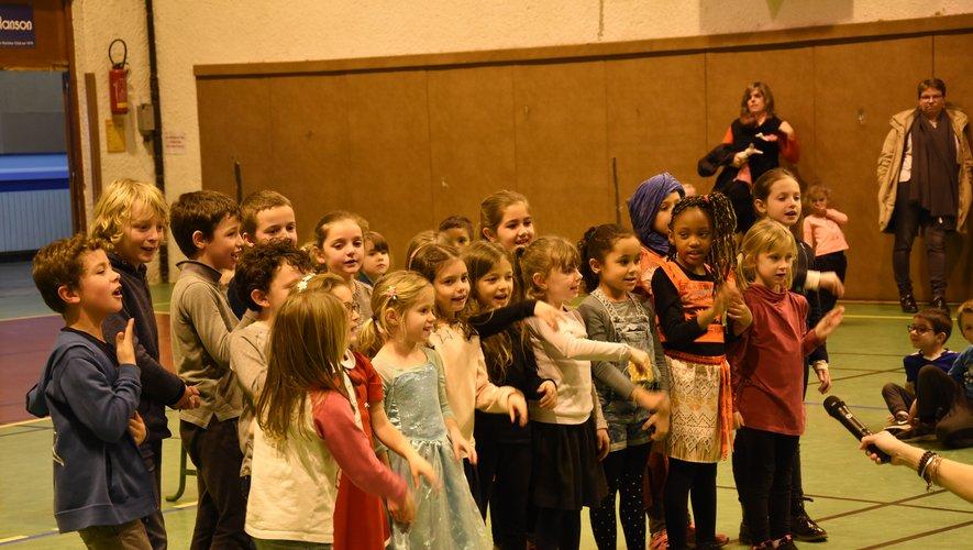 Les diverses classes de Jean-Monnet ont montré leur talent de chanteurs.