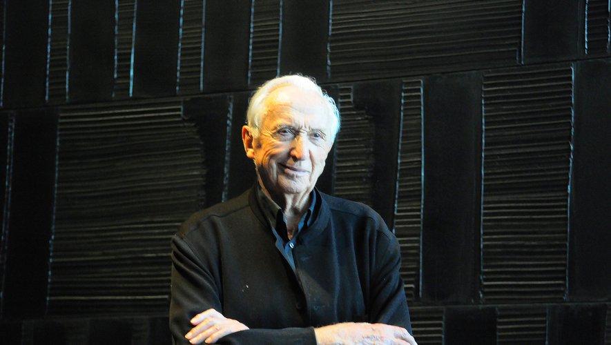 Pierre Soulages.