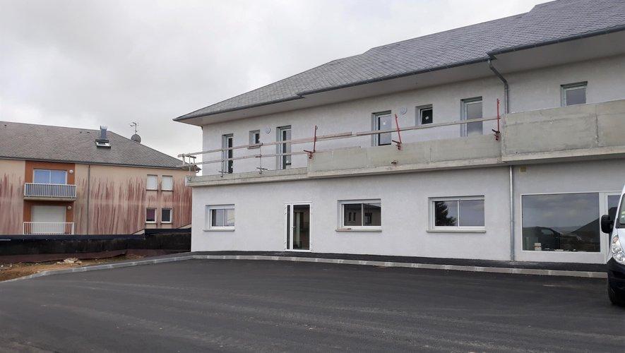 Une surface de 160 m2 est dédié à la création de cabinets médicaux.
