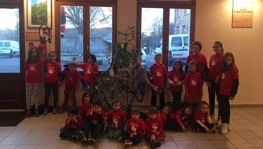 Noël de enfants à la salle des fêtes