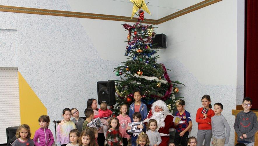 Une rencontre autour du père Noël.