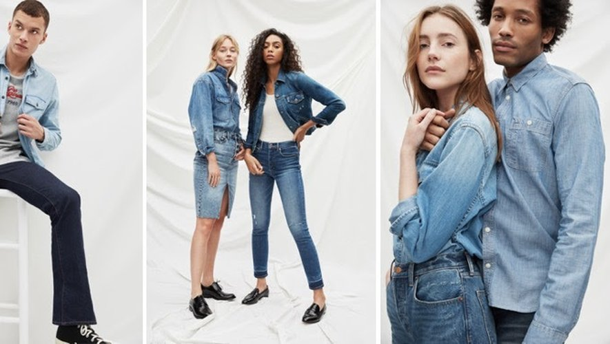 Gap a marqué son 50ème anniversaire cet été avec une réédition de ses jeans à travers les âges.