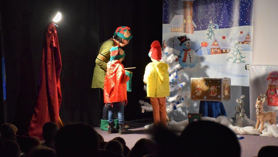 Une « folle vadrouille » récompensée par la venue du père Noël