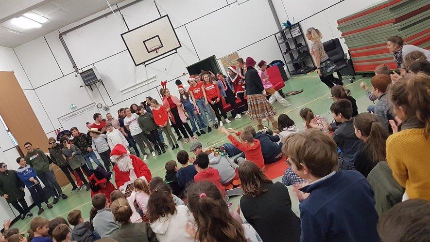 Belle représentation au gymnase Saint-Matthieu.