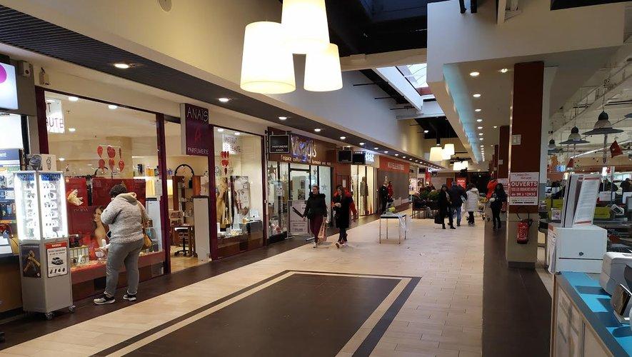 La galerie marchande restera ouverte et accessible pendant toute la durée des travaux.