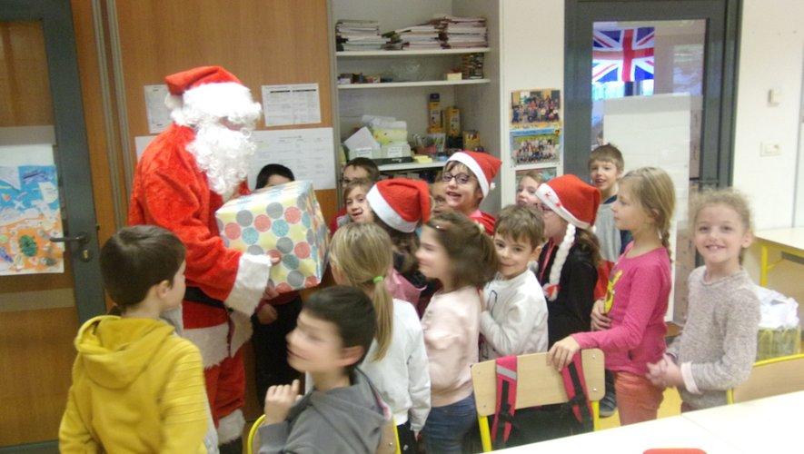 À chaque classe son cadeau.