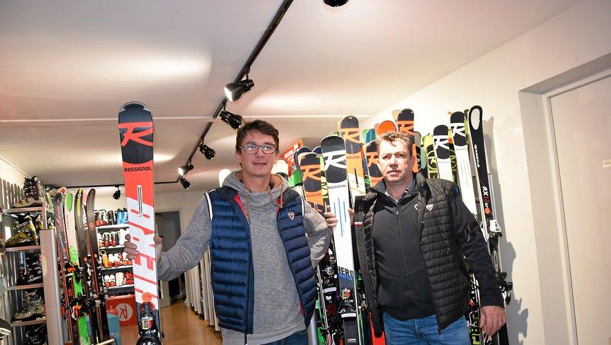 En 2008, Jean-Baptiste Buisson a intégré l'entreprise créée par Jean-Paul Fouet  (à droite).