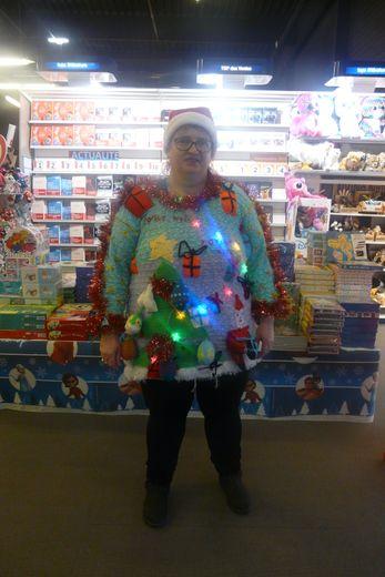 Le pull de Noël le plus moche décerné à