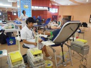 Plus de 200 poches de sang collectées par l'EFS.