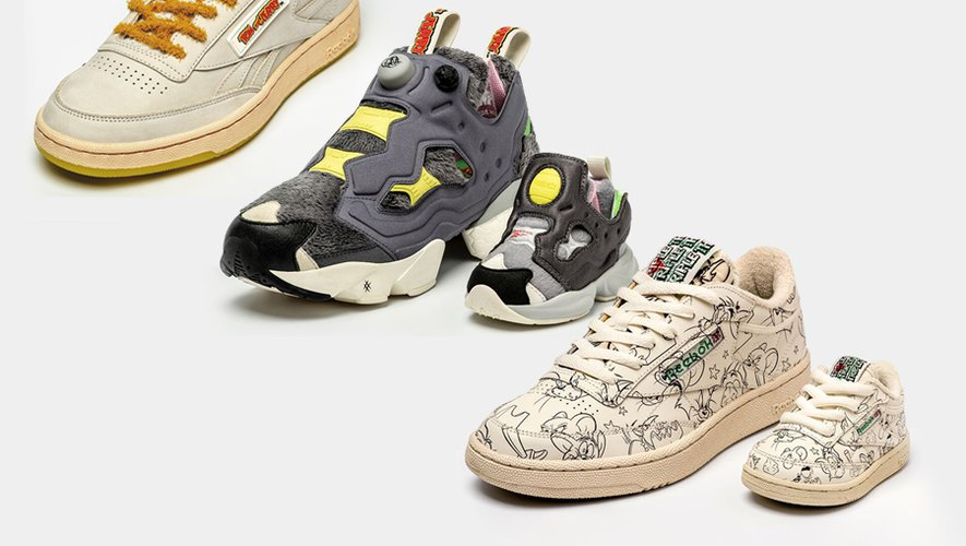 Collection Reebok x Tom & Jerry