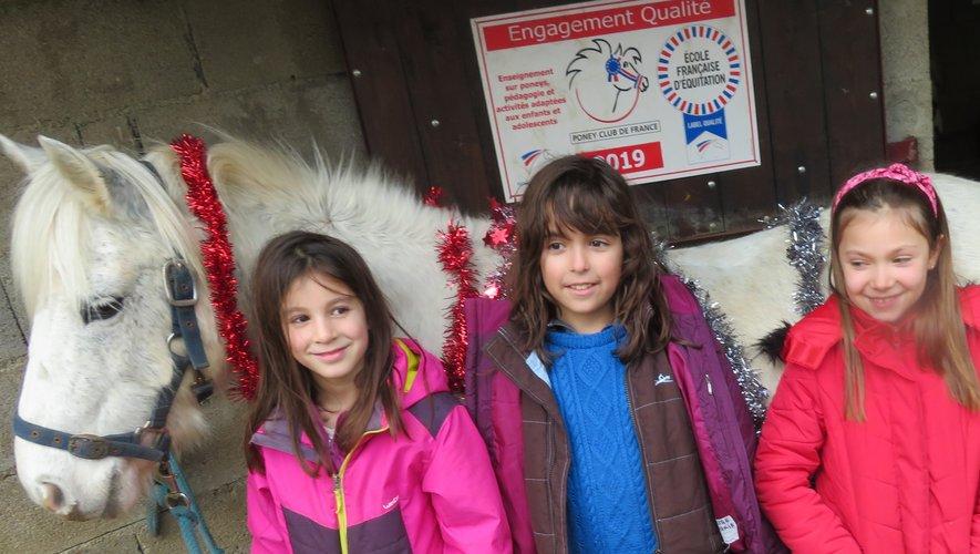 Au centre équestre de Bannès, c'était saut d'obstacles et cadeaux de Noël