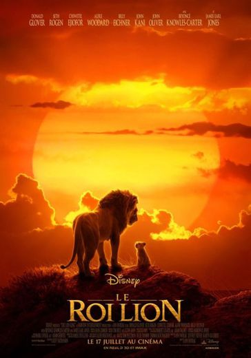 """""""Le Roi Lion"""" de Jon Favreau a été le film le plus vu dans les salles obscures françaises en 2019"""