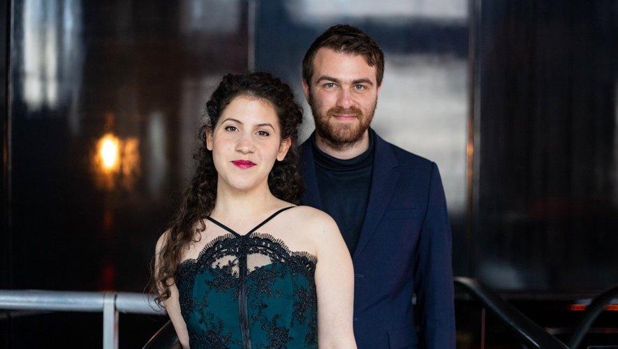 Les deux artistes soprano et pianiste.