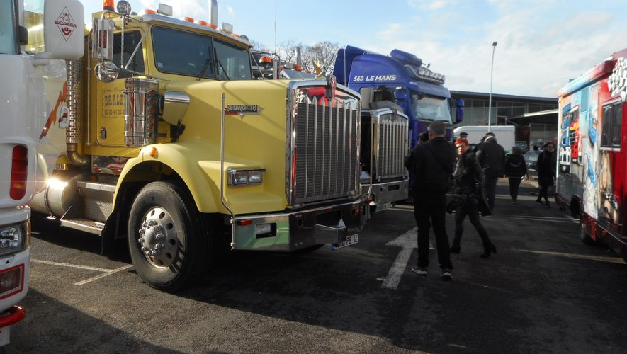 Des camions made in USA vous attendront.