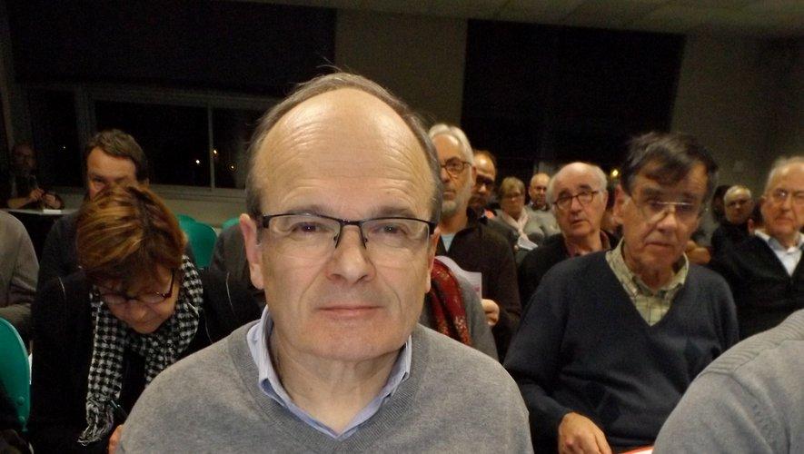 François Marty, mairede Decazeville.