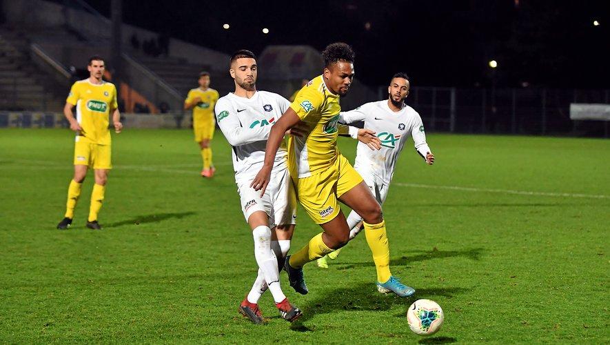 Dorian Caddy avait inscrit deux doublés lors des deux derniers tours de Coupe de France du Raf joués à Poitiers (1-3) et Auch (0-5).