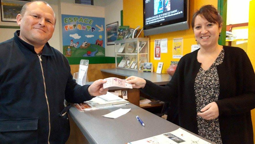 Les chèques Ami Kado sont arrivés à l'office de tourisme.