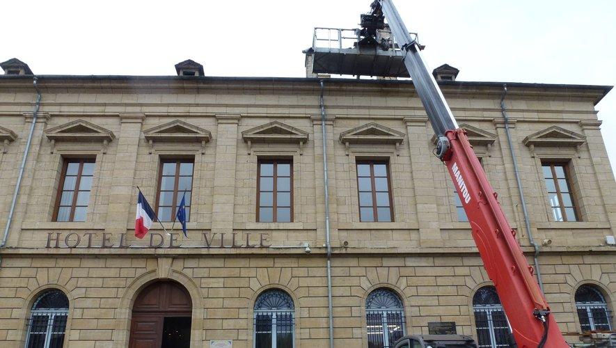 D'importants travaux ont été réalisés à la mairie en 2019.