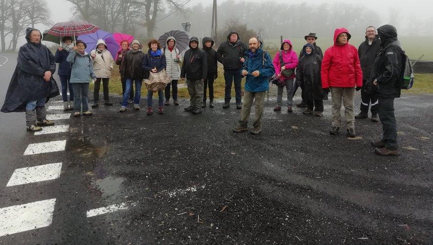 Une randonnée sous la pluie pour les Caminaïres