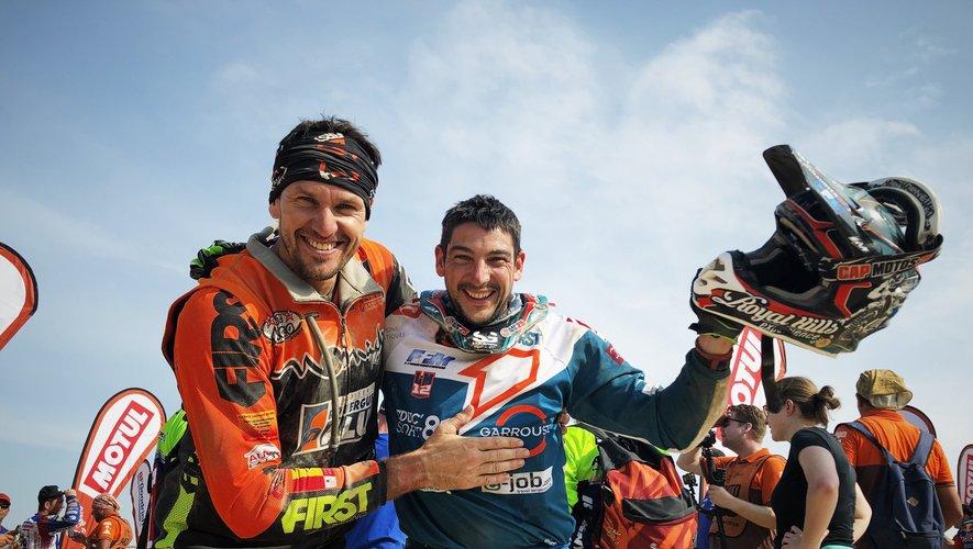 Florent Vayssade et Loïc Minaudier espèrent cette année encore rallier l'arrivée sans trop de dommages. Le plus près possible du Top 10 de ce Dakar 2020.